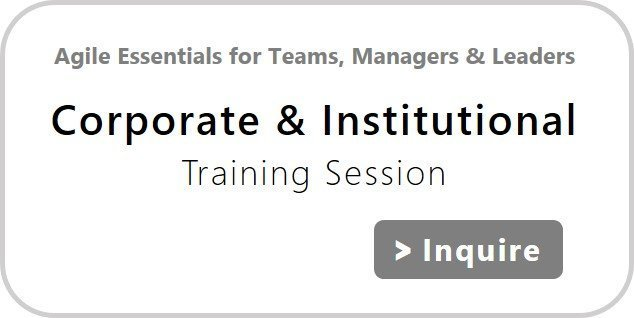 Agile Essentials for Teams, Managers & Leaders | Corporate & Institutional Training Sessions | agile-od.com | Lifecycle