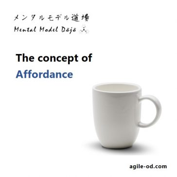 Concept of Affordance | Design Thinking | agile-od.com | Lifecycle