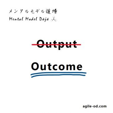 Outcome vs Output, agile-od.com, Lifecycle