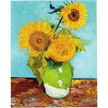 Vincent Van Gogh Three Sunflowers