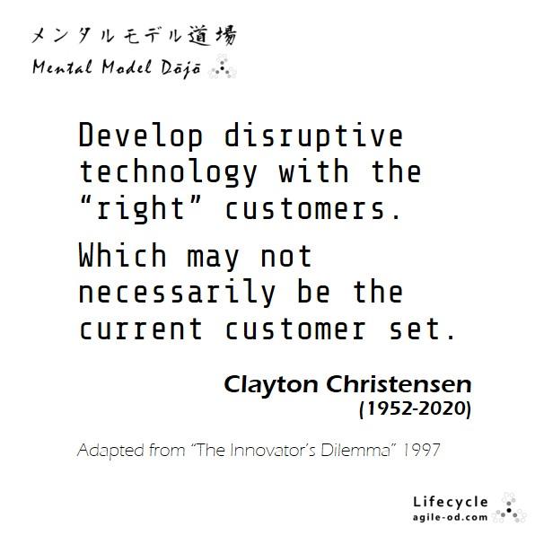 Innovator's Dilemma - agile-od.com