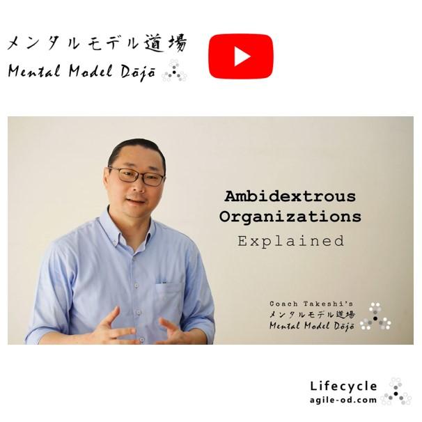 Mental Model Dōjō TV - Ambidextrous Organizations Explained