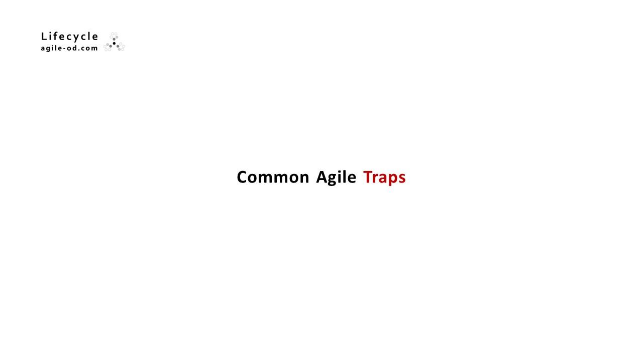Common Agile Traps