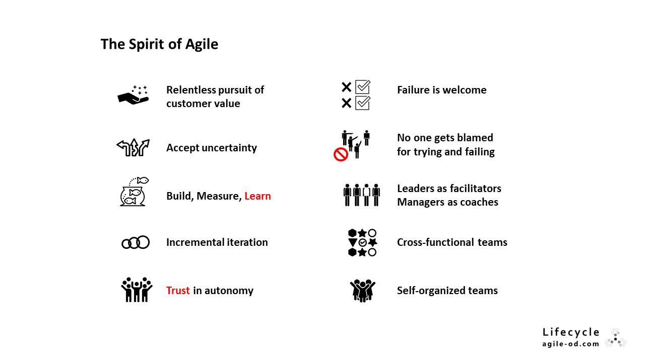 The Spirit of Agile