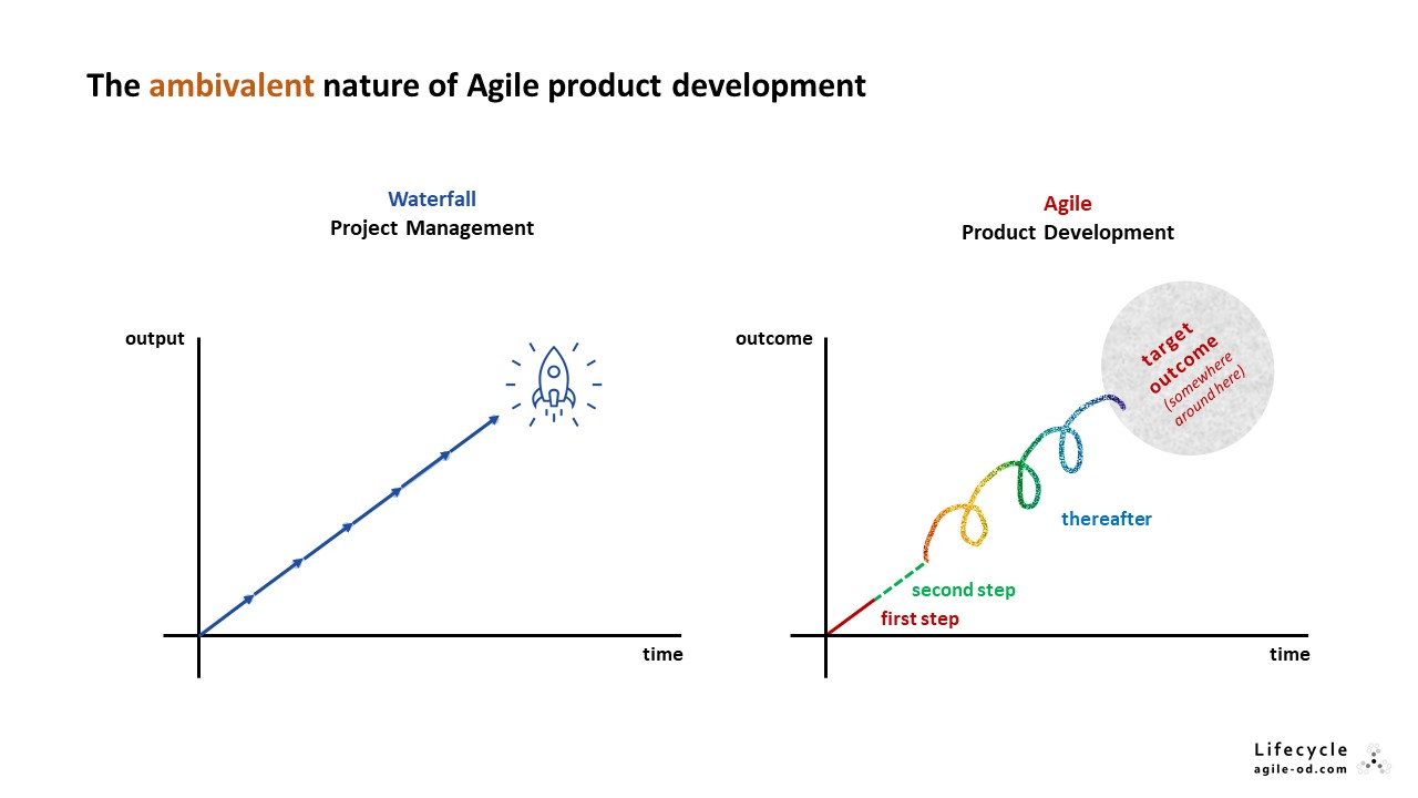 The ambivalent nature of Agile product development