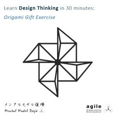 Learn Design Thinking in 30 minutes: Origami Gift Exercise