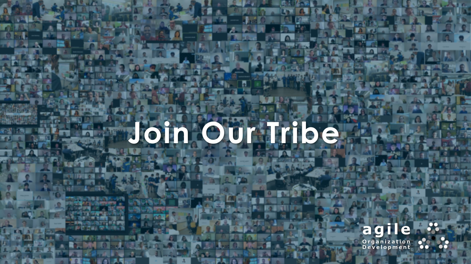 Join Our Tribe at Agile Organization Development