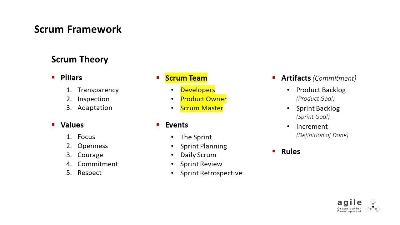Scrum Team: Developers | Coach Takeshi's Scrum Crash Course