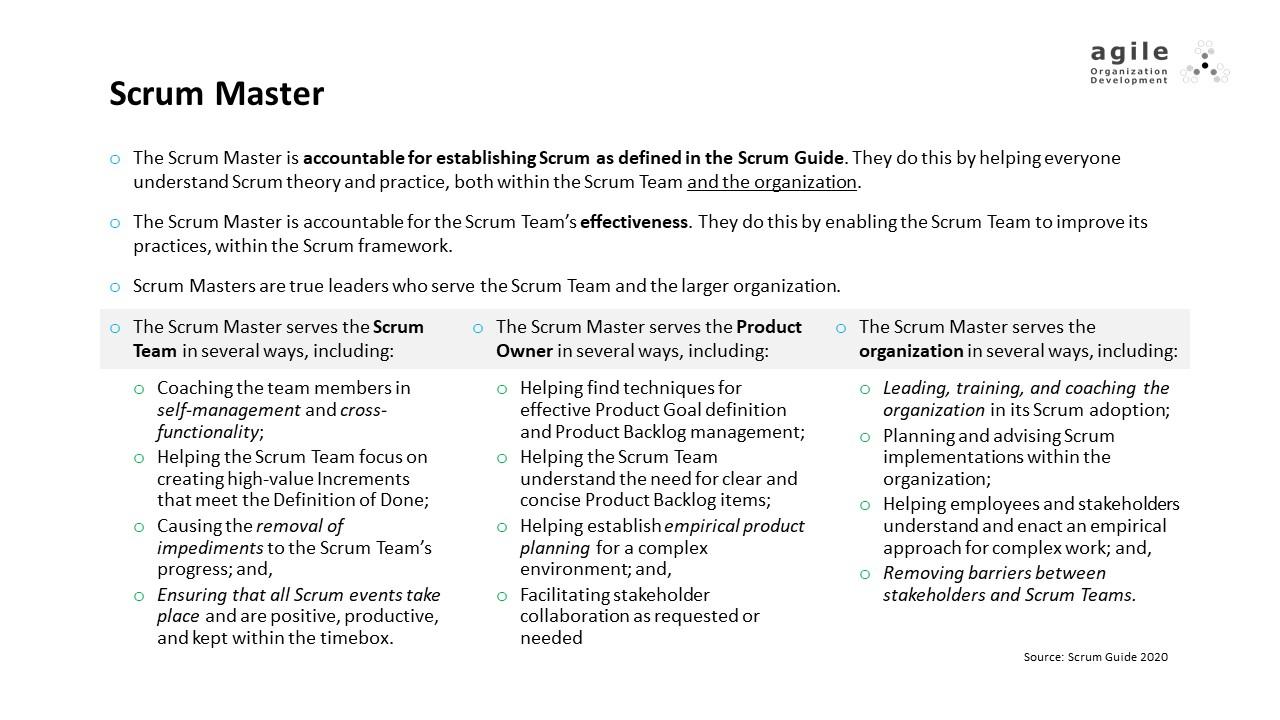 Scrum Team: Scrum Master | Coach Takeshi's Scrum Crash Course