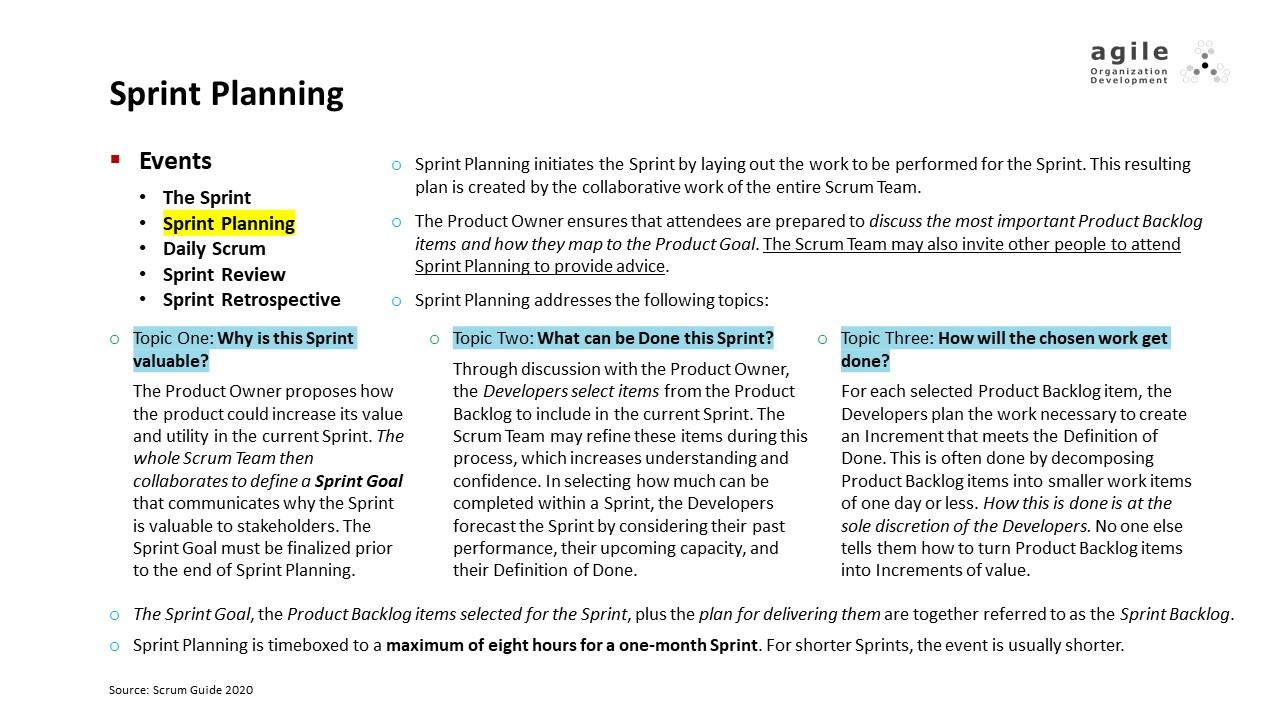 Scrum Events: Sprint Planning | Coach Takeshi's Scrum Crash Course