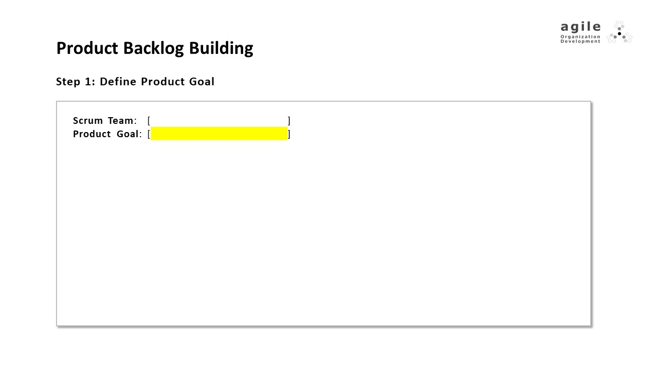 Product Backlog Building - step 1 | Coach Takeshi's Scrum Crash Course