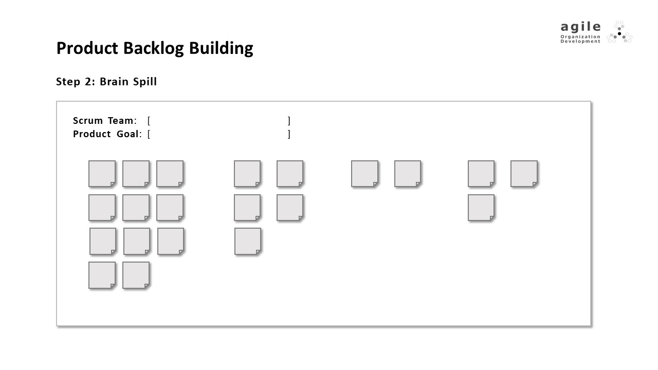 Product Backlog Building - step 2 | Coach Takeshi's Scrum Crash Course