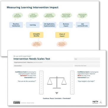 Measuring Coaching, Training, Consulting Intervention Efficacy and Needs